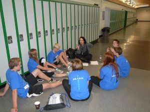 St. Bernard students planning school based projects-1200x900